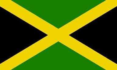 Drapeau de jamaïque 90 x 150 cm