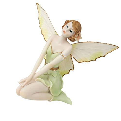 VOSAREA - Figuras de hada de resina, minijardín, decoración escultoreos, para casa de muñecas, hadas, jardín, paisaje, decoración para coche