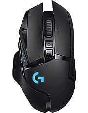 Logitech G502 Lightspeed Kablosuz Oyuncu Faresi, Siyah