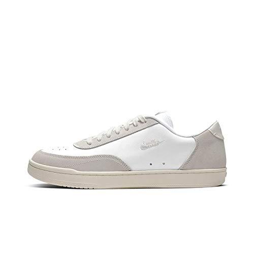 Nike Sportswear Court Vintage Premium - Zapatillas para hombre, color blanco/beige, 9,5 US - 43 EU - 8,5 UK