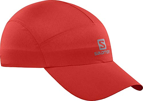 Salomon Waterproof Cap, Rojo (Goji Berry), Talla única Unisex-Adulto