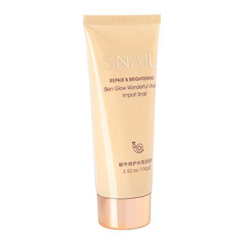 Crema limpia hidratante, limpiador facial ligero, práctico y eficaz, tamaño pequeño para viajes en casa, hidratante facial