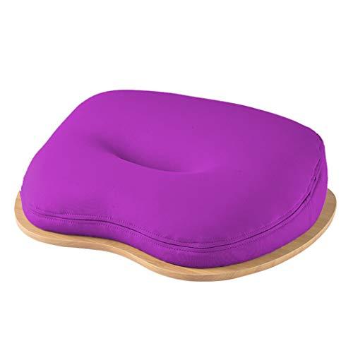 #N/A - Soporte antideslizante para teléfono móvil para escritorio, portátil, tableta, tableta, tableta, rodillera, práctica mesa de comedor, cojín para dormir, color morado claro