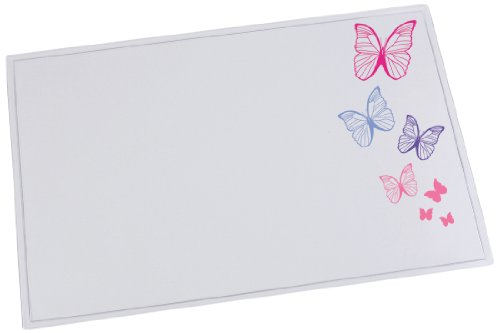 Läufer Sous-mains DURELLA EMOTION, motif: butterfly - 40x53cm