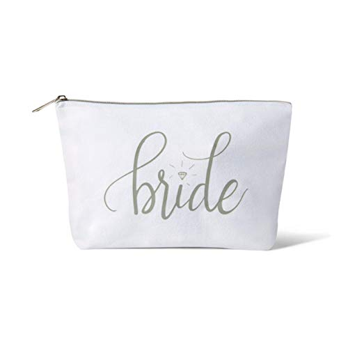 Bride Tribe Makeup Bags - Bridesmaid Favor for Bachelorette Party, Bridal Shower, Wedding. Cosmetic