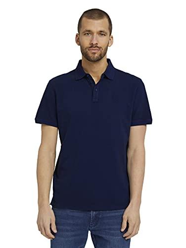 TOM TAILOR Herren 1026022 Basic Poloshirt, 10932-Sailor Blue, L