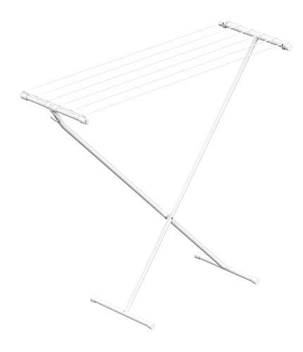 Rörets Tendedero compacto – Gancho de almacenamiento – Práctico y estable – ocupa poco espacio – 90 x 32 x 83 cm – 5,5 m de superficie de secado – Diseño sueco