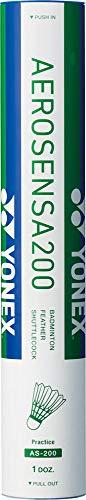 ヨネックス(YONEX) バドミントン シャトルコック エアロセンサ200 水鳥シャトル 12個入り 温度表示番号3(適正温度22~28℃) AS200