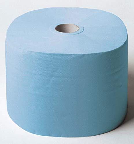 11149-01 - Reinigungstuchrolle Multitex, blau, sehr weich, hochsaugfähig, fusselarm, extrem, reißfest, lebensmittelecht, 38x30 cm, 2 Rollen á 475 Abrisse