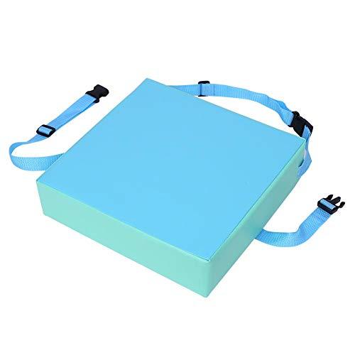 Hoge stoel voor kinderen, kunstleer + spons, hoge dichtheid, gemakkelijk te reinigen. Blauw