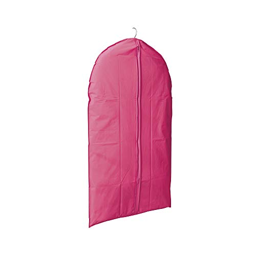 Compactor Funda corta para chaquetas, Color Rosa, Fabricado en PEVA, Tamaño 60 x 100 cm, RAN5343