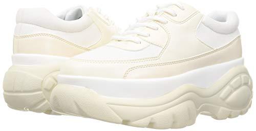 [ウィゴー]厚底スニーカー厚底スニーカーシューズ靴レディースMオフホワイト