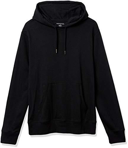 Amazon Essentials Lightweight Jersey Pullover Fashion-Hoodies, Schwarz, US XXL (EU XXXL-4XL)