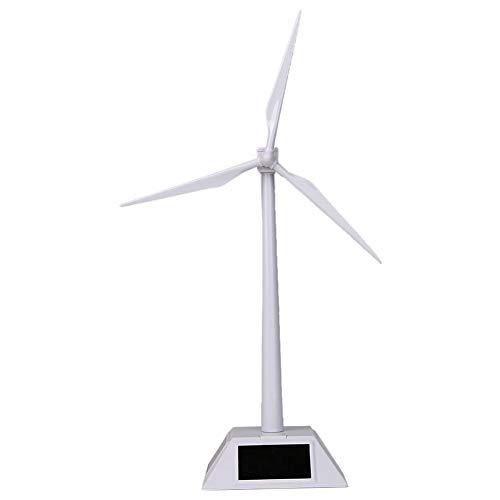 vap26 Solarbetriebene Mini-Windmühle für das naturwissenschaftliche Lernen von Kindern, Windmühlen-Modellskulpturen für Heim- und Bürodekoration DIY Solar Power Kits Kinderspielzeuggeschenk