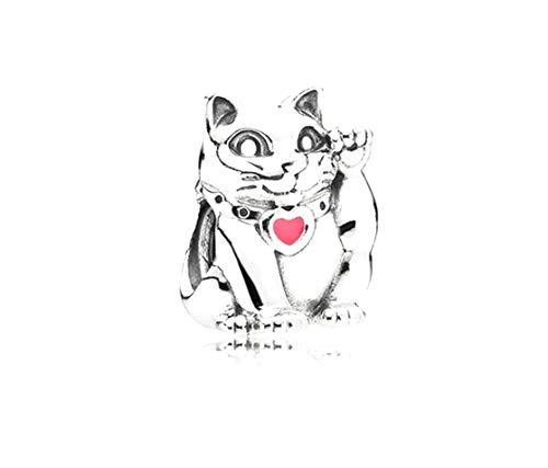 PANDORA Maneki Neko Waving Cat Moments Charm NEW in Pouch 790989EN