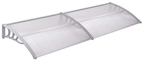 Voordeur veranda dak luifel regen luifel schaduw beschutting bescherming 4 maten beschikbaar V2Aox 200 x 90 cm