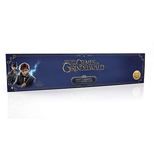 J.K. Rowling's Wizarding World Wow! Stuff Collection, Animali Fantastici, Bacchetta di Newt per dipingere con la Luce - vincitrice di premi