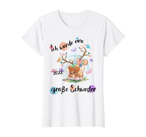 Bald große Schwester - Ich werde große Schwester 2022 T-Shirt