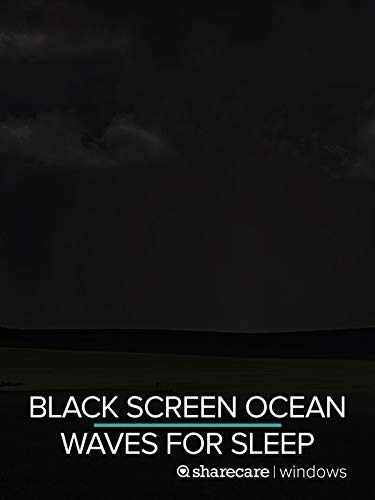 Black Screen Ocean Waves for Sleep 9 hours New Mexico