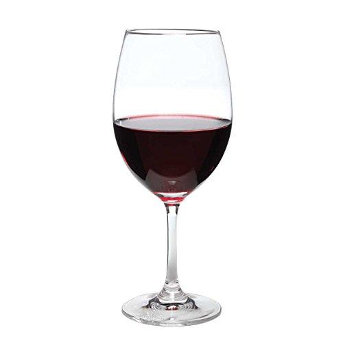 Perfect Stemware, juego de 4 copas de vino tinto grande