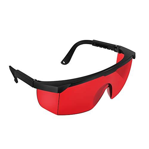 Openuye Goggles, Gafas de seguridad para depilación HPL/IPL, Gafas de protección ocular