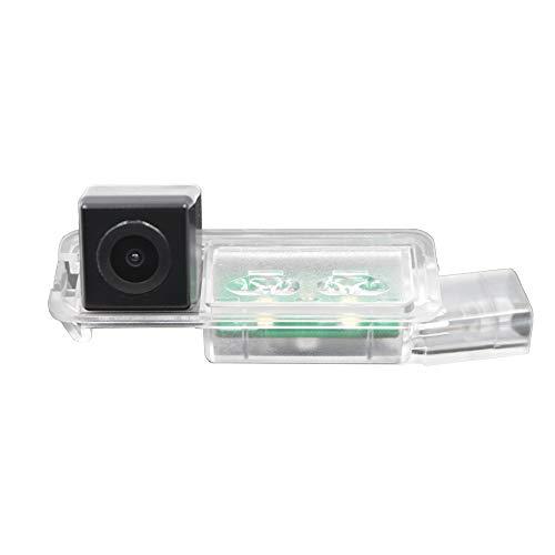 HD 720p Rückfahrkamera in Kennzeichenleuchte Einparkhilfe Kamera für SEAT Ibiza FR Golf 7 MK7/VII/Skoda Scirocco/Seat Leon/Seat Leon 5F/Lamando
