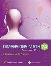 Dimensions Math CC Textbook 7A