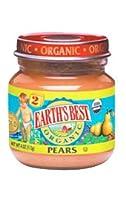 アースズ・ベスト / アリサン - 有機離乳食 - ペアー - オーガニックベビーフード - 瓶タイプ - Earth's Best / Alishan -  Pears - Organic Baby Food Jar - 113g