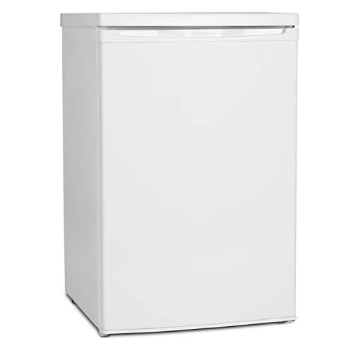 MEDION MD 37052 Kühlschrank mit Gefrierfach (118L Nutzinhalt, 103L Kühlteil, 15L Gefrierteil, wechselbarer Türanschlag) weiß