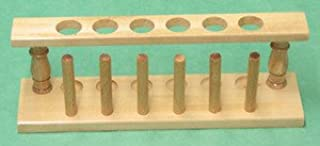 SEOH Test Tube and Drying Rack Wooden for 6 Tubes 22mm