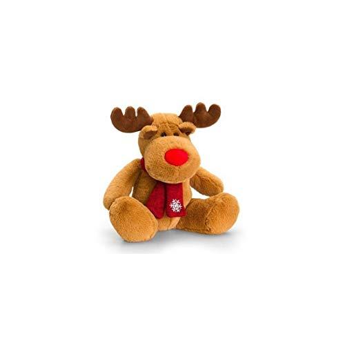 Keel reindeer with scarf