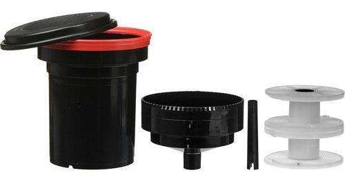 Paterson PTP115 - Tanque Universal con Dos espirales, Color Negro