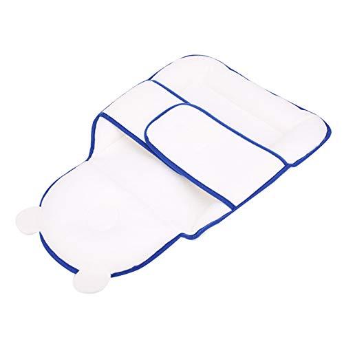 SALUTUYA Colchón de Cama para bebé Elasticidad Ajustable para Dormir para bebés para bebés(Blue Sleeping Pad)