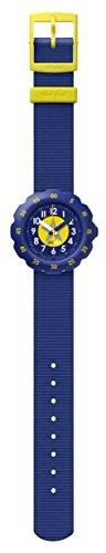 Flik Flak Jungen Analog Quarz Uhr mit Stoff Armband FPSP023
