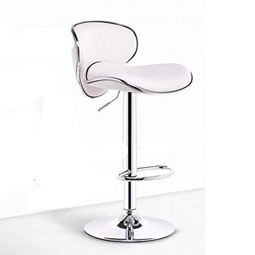 Onbekende roterende stok stoel bureaustoel eenvoudige manier leer barkruk Rotary Lounge Chair 01-13