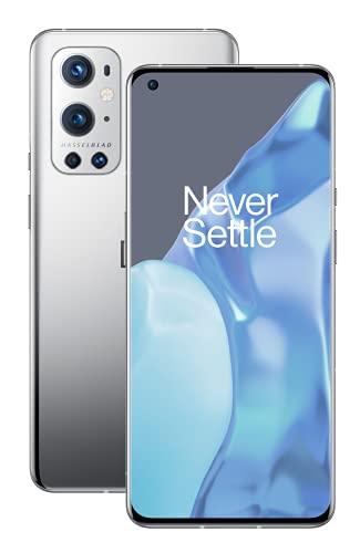 OnePlus 9 Pro 5G Smartphone con cámara Hasselblad para móvil - Morning Mist 8GB de RAM + 128GB, sin SIM