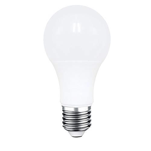 Lilideni Smart WIFI LED Lampadina WIFI Luce RGB Multicolor LED Lampadina 7W E26 / 27 Dimmable Light Telecomando Telefono Compatibile con Alexa Google Home Genie Voice Control Lampadina fredda e calda