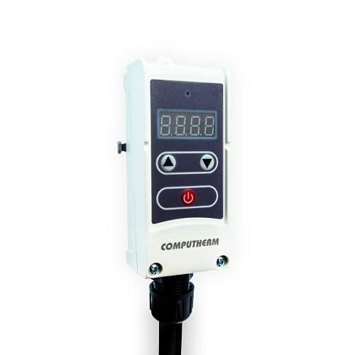 COMPUTHERM Termostato de contacto WPR-100GD, para sistemas de calefacción y refrigeración, mando...