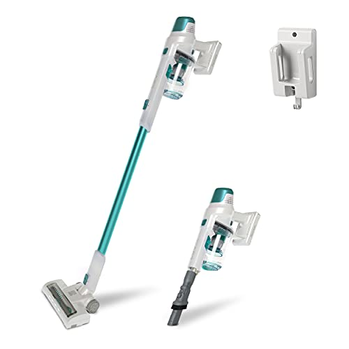 Kenmore DS4020 Cordless Stick Vacuum Lightweight Vacuum Cleaner 2-Speed Power Suction LED Headlight 2-in-1 Handheld Vacuum for Hardwood Floor, Carpet & Dog Hair