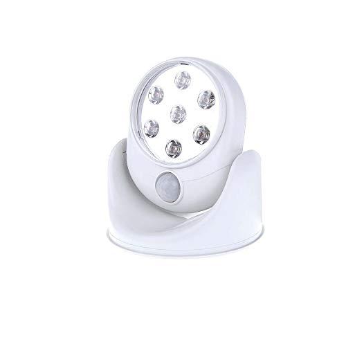 Ambiente multifuncional 1 UNIDS 7LED Sensor Nachtlampje Inductie Lámpara de Sensor de Movimiento Magnetische Wandlamp Kabinet Trappen Licht Luz Inteligente Seguridad de alta calidad
