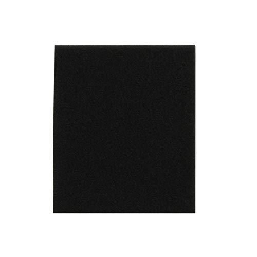 Ba30DEllylelly 00996 Esponja de filtro para aspiradora doméstica Fc8140 Fc8142 Fc8144 Accesorios Filtro de algodón 132 * 112 * 10 mm