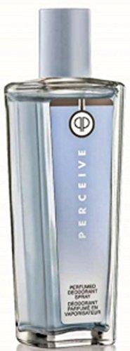 Desodorante perfumado en espray Perceive (12450) de Avon, en frasco de cristal elegante (75 ml)