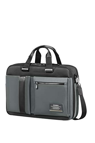 Samsonite Openroad - Three-Way Expandable Aktentasche, 43 cm, 27 Liter, Eclipse Grey