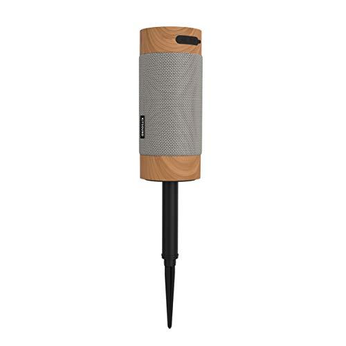 KitSound Diggit XL Outdoor Freestanding Bluetooth Garden Speaker with...