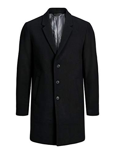 cappotto uomo di lana JACK & JONES JJEMOULDER Wool Coat STS Cappotto di Lana