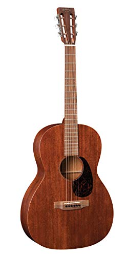 Martin Guitar 000-15SM with Gig Bag, Acoustic Guitar for the Working Musician, Mahogany Construction, Satin Finish, 000-12 Fret with Slotted Headstock, and Low Oval Neck Shape