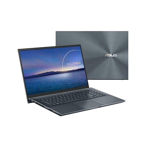 ZENBOOK PRO UX535L 15.6' FHD, I7-10870H, 16 GB, SSD 512 GB PCI-EX, HD 1 TB,GTX1650 MAX Q 4GB, WINDOWS 10 prof., WEBCAM, TASTIERA RETROILLUMINATA, GREY