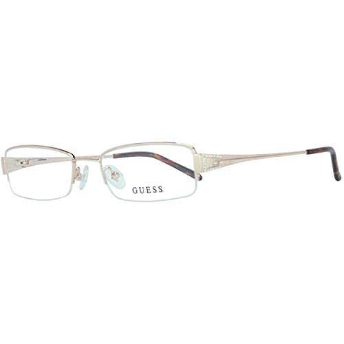 Guess Brille Gu1489 H54 51 Monturas de gafas, Dorado (Gold), 54.0 para Hombre