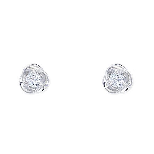 [ジュエリーツツミ]JEWELRY TSUTSUMI プラチナダイヤモンドピアス RPE245-001