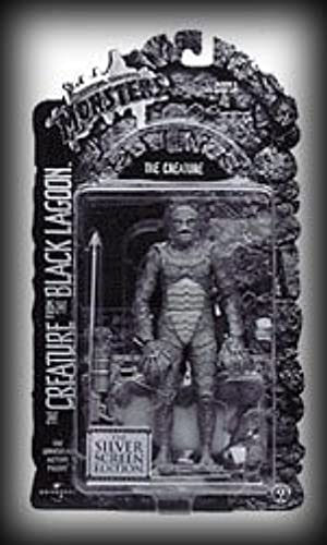 Universal Studios Monsters The Creature from the noir Lagoon argent Screen Edition by Universal Monsters